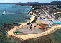 辺野古新基地:「N3」護岸に着手 サンゴ保護へ施工変更、土砂投入に遅れか