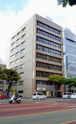 (資料写真)30年連続で商業地の最高価格となっている那覇市松山1丁目付近