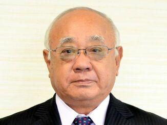 前宮古島市長の下地敏彦被告