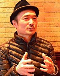 FC琉球の取り組みを評価する文芸批評家の陣野俊史さん=東京都内