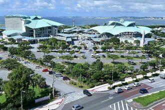 会場となる沖縄県宜野湾市の沖縄コンベンションセンター