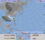 台風9号の進路予想図(気象庁HPから)