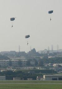 三連協、嘉手納基地でのパラシュート降下訓練の中止要請へ 合意順守求める
