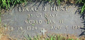 幼女暴行殺害事件を起こしたアイザック・ハート軍曹の墓。墓石は米政府が提供した=米オハイオ州(ハミルトン郡家系図協会提供)
