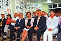 大差の背景 2018年沖縄市長選(中)選考で出遅れ、政策は準備不足 「総決起大会」も見送り