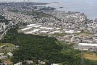 ディズニーのホテル建設が検討されるインダストリアル・コリドーの宜野湾地区