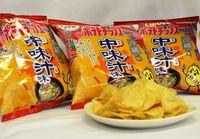 沖縄のご当地ポテチは、あの「汁物」味… カルビーが19日から限定発売