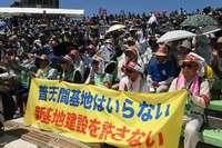 「普天間返還せよ」訴え 5・15平和行進、地位協定改定求め宣言採択