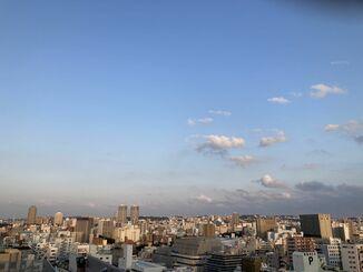 過ごしやすい天気でしたね。明日も暖かい1日になりそうです。