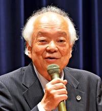 馬奈木弁護士「不断の努力が権利守る」 沖縄と共闘訴え 憲法講演会