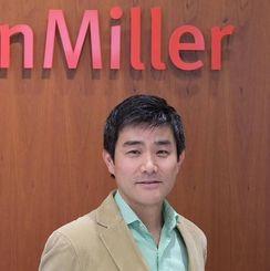 ハーマンミラージャパンの松崎勉代表取締役社長