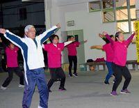4年休まず朝の体操/浦西ラジオ体操愛好会/早起き生活 健康を維持