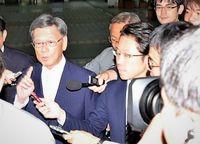 翁長沖縄知事、12日ぶりに出勤 県民栄誉賞「少し話し合う」