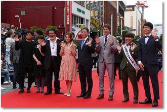 奈良県田原本町の地域発信型映画「I (アイ)」に出演した皆さん