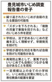 小4自殺、いじめが主因 第三者委、学校側の対応を批判 沖縄・豊見城