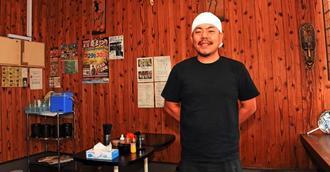 現在は1店鋪だが、増やしていきたくて小浜さんは「名護店」と名付けた=名護市大中