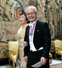 吉野さん、王宮晩さん会に出席 ノーベル賞、主要行事終わる