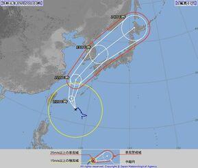 【気になる進路】3連休は西日本に影響も