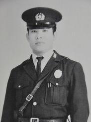 琉球警察時代の稲嶺勇さん