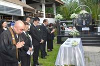 タイでスマトラ地震の追悼式典 邦人犠牲者の遺族ら、津波の日に