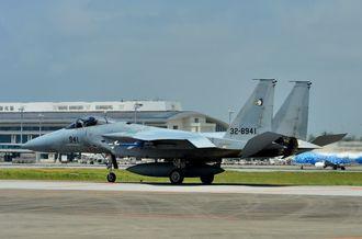 航空自衛隊のF15戦闘機(資料写真)