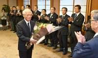 「翁長県政、これからも支える」 沖縄県の浦崎副知事が退任
