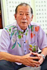 (資料写真)宜野湾市の松川正則市長
