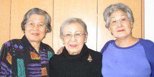 日系人敬老ホームの売却問題について話す(左から)モーズベイ春さん、神山小夜子さん、高良ナオミさん