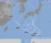 台風19号(ソーリック)発達しながら北上