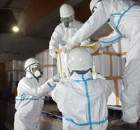 鳥インフル殺処分の鶏焼却、香川 1週間で9万羽
