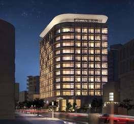 来年6月開業する「JR九州ホテル ブラッサム那覇」の完成イメージ(JR九州ホテルズ提供)