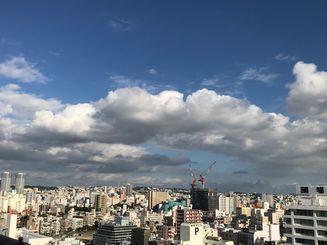 青空が広がり、過ごしやすい1日でした。