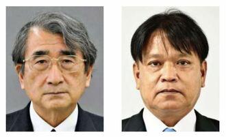 中村正人氏(右)と照屋寛之氏(左)