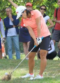 ゴルフ、スタンフォードが優勝 畑岡16位、エビアン選手権