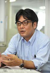 (資料写真)安田浩一さん