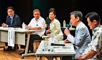 北朝鮮非核化、基地問題の解決に 平和・経済連続講座シンポジウム