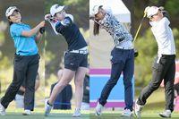 ダイキンアマゴルフ初日 4人が首位タイ きょう決勝R
