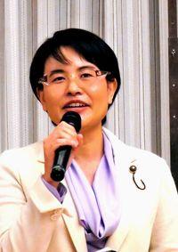 社民の仲村氏 参院選へ決意/比例予定 東京で集い