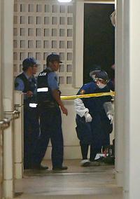 「女性が刺された」10階の部屋で死亡 敷地内に夫の遺体 沖縄・豊見城市