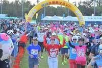 久米島マラソンがスタート 1339人エントリー