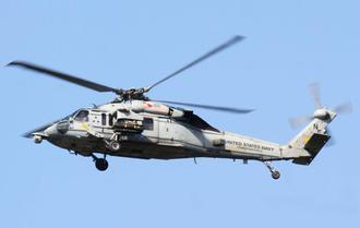 23日に普天間第二小の上空を飛行したMH60ヘリの同型機