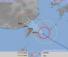 10日午後3時現在の台風8号の進路予想図(気象庁HPから)