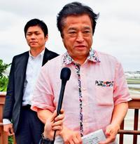 普天間高校移転「県の検討見守る」 福井沖縄相