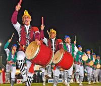 多彩な舞、地域の誇り うるま市エイサーまつり最終日