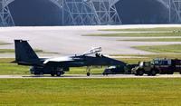 米軍機、正面衝突の恐れ 立て続けに緊急着陸 嘉手納基地
