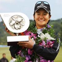 宮里藍、引退へ 女子ゴルフ人気けん引 元世界ランク1位