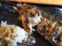 那覇市久米の風林火山で焼き魚(サバ)定食を食べたの巻 運転手メシ(243)