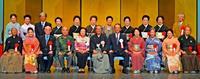 次代に継ぐ歩み、沖縄芸能協50周年 創立記念式典で22人に感謝状