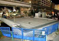 3年半以上も工事が続く、那覇の「久美橋」 24日から新たな交通規制
