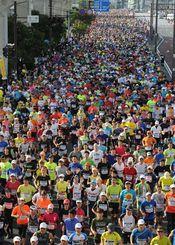 2015年のNAHAマラソン